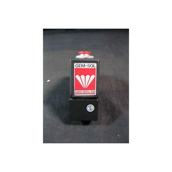 GEM-SOL 551670206 SOLENOID VALVE 3 WAY 230V 1/4NPT BACA