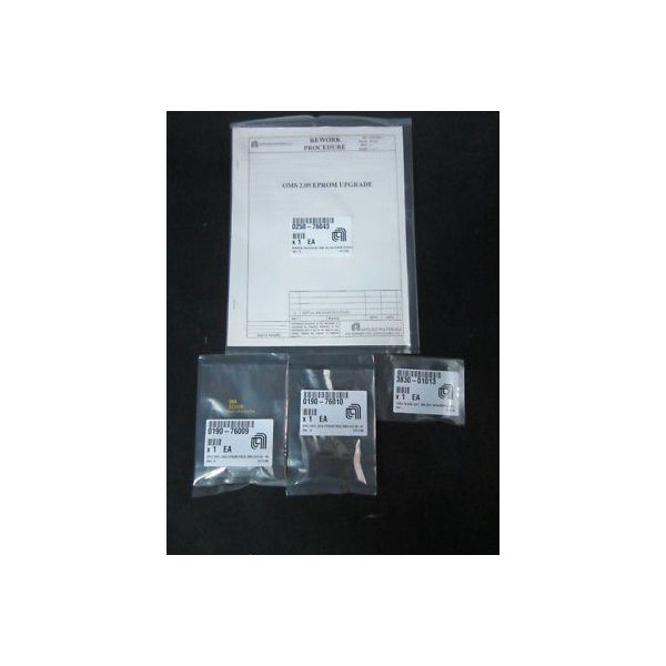 Applied Materials (AMAT) 0240-76264 Kit, Retrofit, OMS Eprom Version 2.09, 0190-