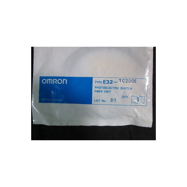 Omron E32-TC200E Photoelectric Switch Fiber Unit