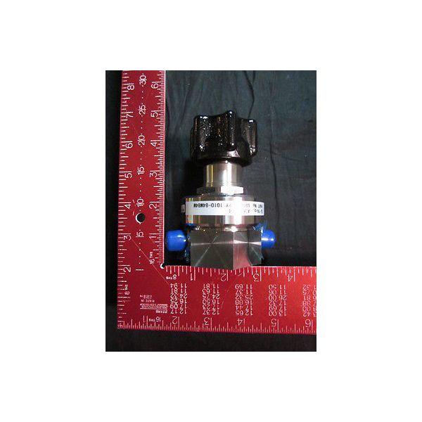 AIR LIQUIDE U20SVS-2Y-1010-84M84M Regulator 316 SS, ULSI-150010-Y1X ; MAX  INLET