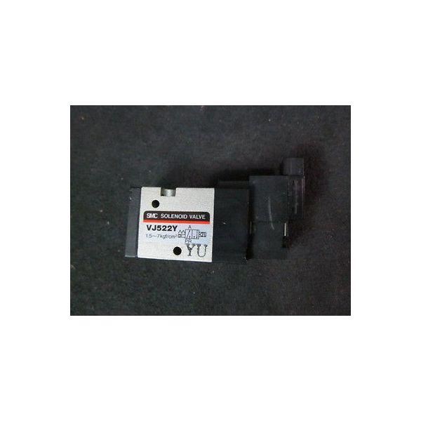 SMC VJ522Y Solenoid Valve, 1.5~7kgf/cm^2--not in original packaging