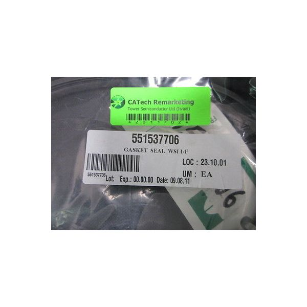 VISION 551537706 GASKET  SEAL  WSI I/F , 15FT