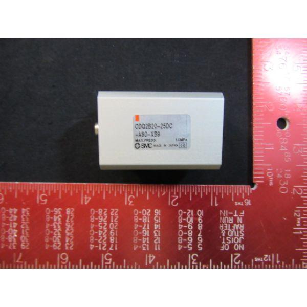 DAI NIPPON SCREEN (DNS) 2-39-35666 SMC CDQ2B20-25DC-A80-XB9  PNEUMATIC CYLINDER WITH D-A80 SMC SENSOR