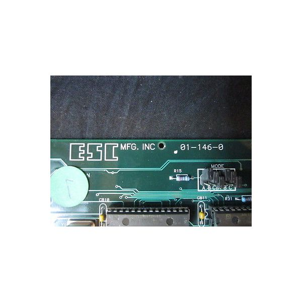 ESC 01-146-0 VGA DISPLAY BOARD