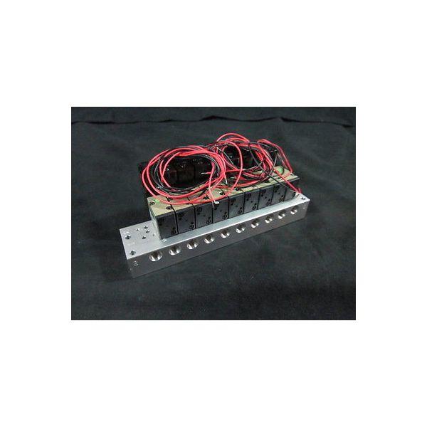 CKD M3PB110-06-C2-10-3 VALVE, SOLENOID 9 valve Manifold