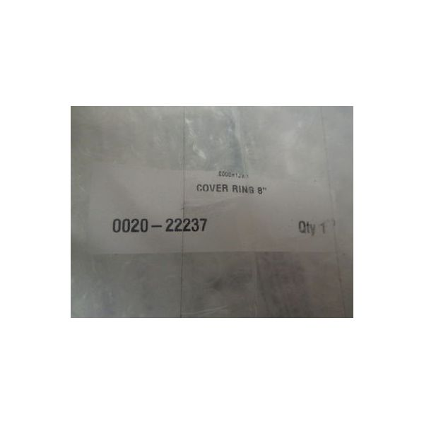 """AMAT 0020-22237 COVER RING 8\"""""""
