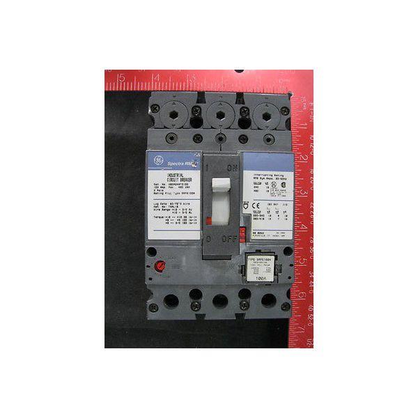 GE SEDA24AT0100 GE INDUSTRIAL CIRCUIT BREAKER; 8LB, TYPE: SEDA, AMPERAGE: 100, 2
