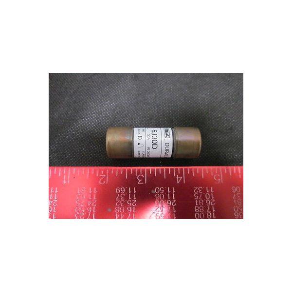 SIBA D372-07-801 Pump, Duralim 600V 30-Amp, IR 200KA Fuse, Dual Element Time Del