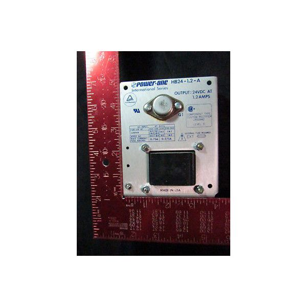 POWER-ONE HB24-1.2-A Power Supply, International Series, Output: 24VDC at 1.2 Am
