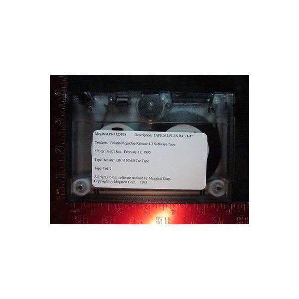 MEGATEST 127866 Polaris/MegaOne Incremental Release Software 4.3.1.1; Software T