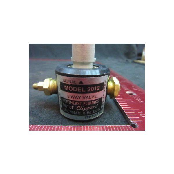 Applied Materials (AMAT) 3870-01259 Clippard Minimatic Miniature Pneumatic 3-Way
