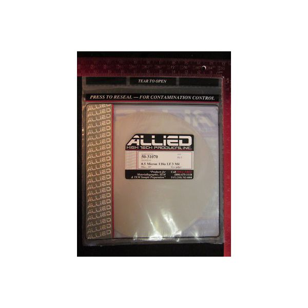 ALLIED HIGH TECH 50-31070 0.5 MICRON I DIA LF 3 MIL (PACK OF 5)