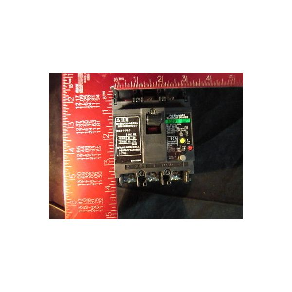 FUJI ELECTRIC EG33FC-20A 20AMP 3-POLE 30mA EARTH LEAKAGE CIRCUIT BREAKER