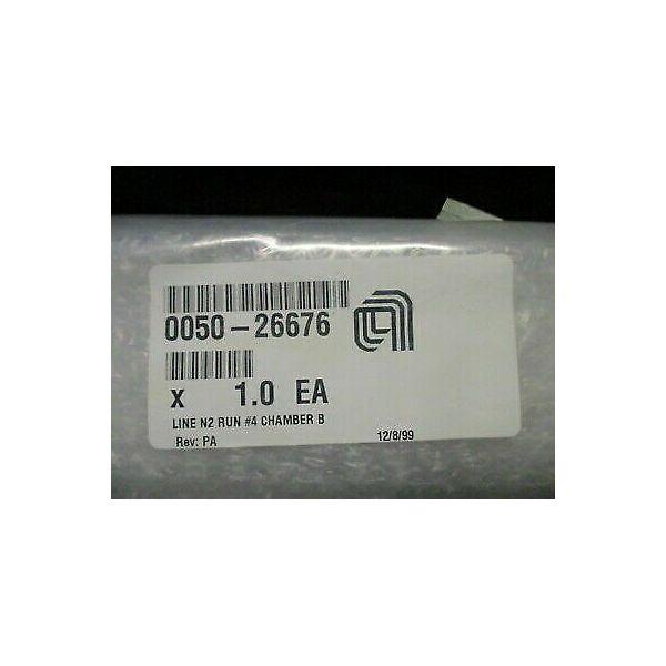 Applied Materials (AMAT) 0050-26676   WELDMEWTN, LINE N2 RUN #4 CHAMBER B