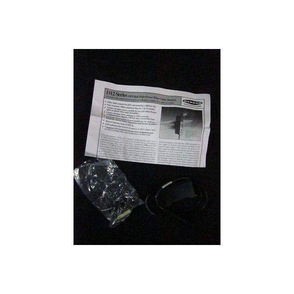 BANNER 32820 D12 Series DIN Rail High Power Fiber Optic Sensor Assembly, 10-30V