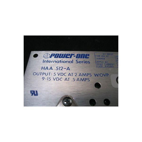 POWER ONE HAA-512-A POWER SUPPLY, 5V@2A/9-15V@.5A
