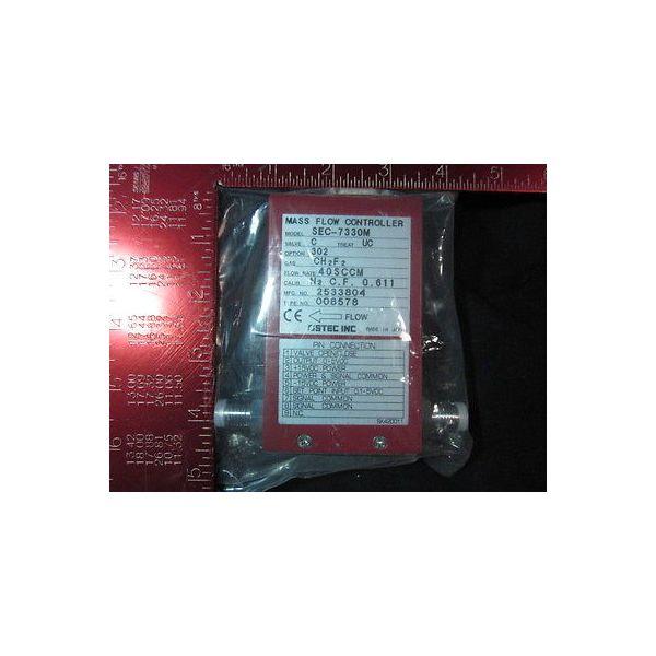 STEC SEC-7330MC-UC-302-40SCCM Mass Flow Controller; Gas: CH2F2, Flow Rate: 40SCC