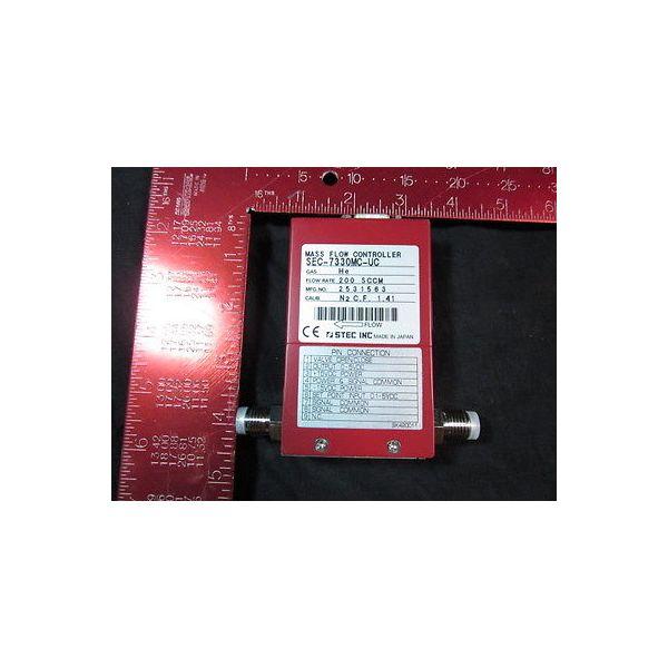 STEC SEC-7330MC-UC-200SCCM-HE Mass Flow Controller; Gas: He, Flow Rate: 200SCCM