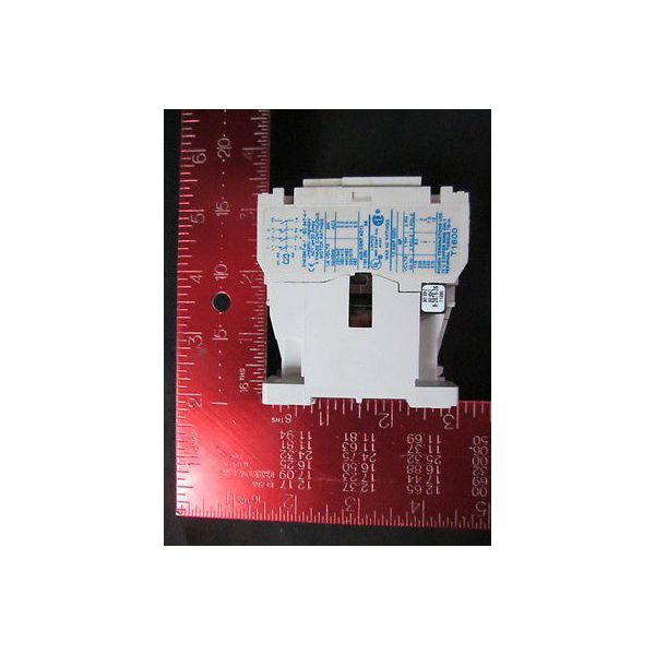 AMAT 1200-01531 Relay Contactor 3 Pole Open, Type: AUX: 1 NO-Side, Coil: 24V, 50