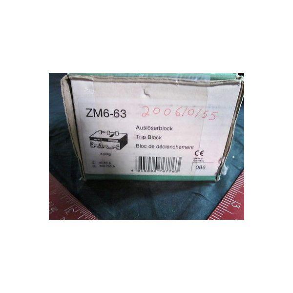 Klockner-Moeller ZM6-63 OVERLOAD ZM-6-63 KLOCKNER MOELLER