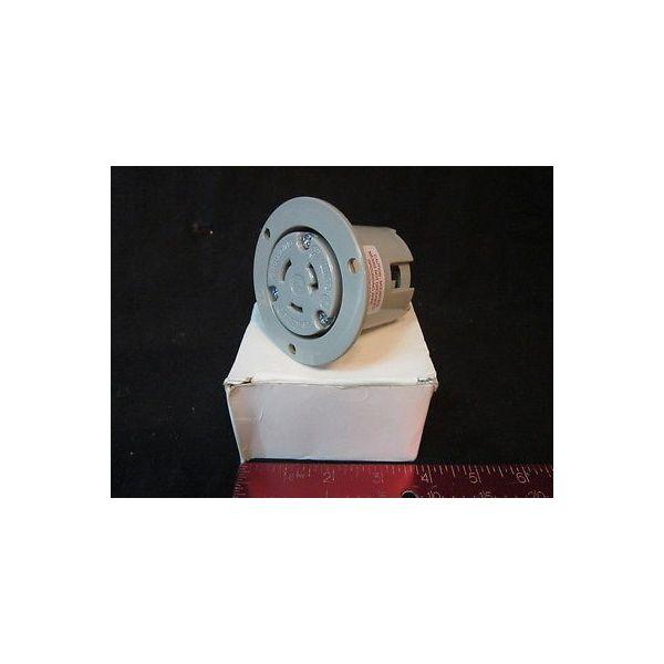 AMAT 0720-01483 ARROW HART 6206 CONN RCPT FLG OUT 2P 3WR 20A 125V NYL/LEXAN L5-2