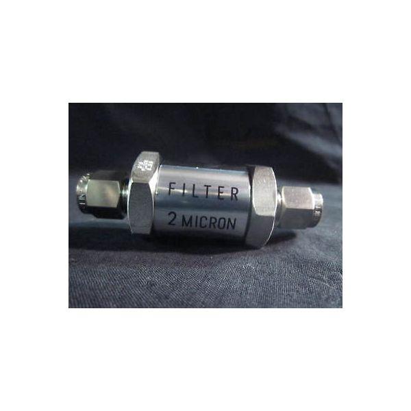 FUJIKIN FUFL-915-6.35-2 FILTER, INLINE, 2 MICRON SS