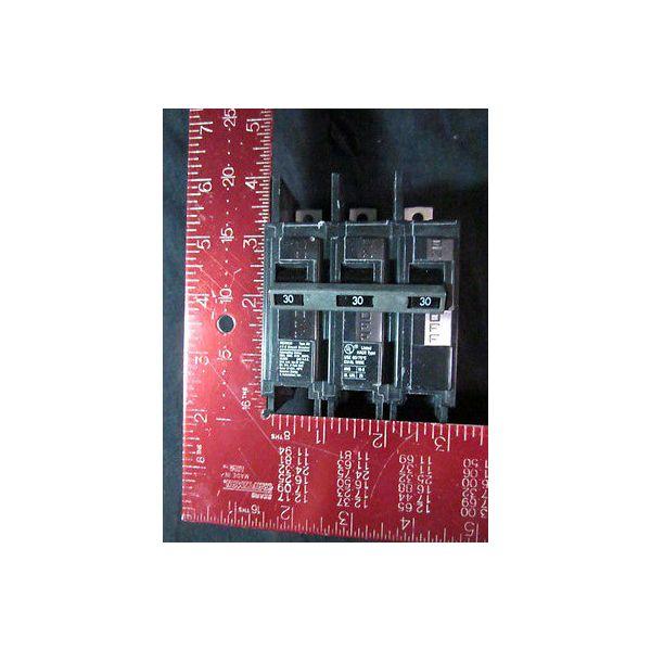 I-T-E BQ3B030 Circuit Breaker, 30-AMP 3-Pole 240V LAM 44xx/45xx ETCHER, Type: BQ