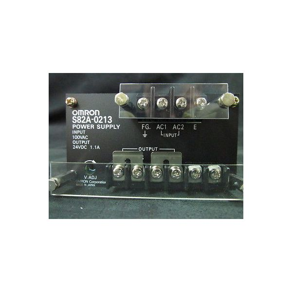 OMRON S82A-0213 UNIT, POWER SUPPLY S82A-0213,DC24V 1.1A