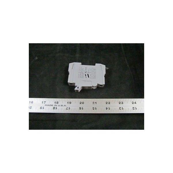 AMAT 0910-01432 FUSE HLDR 1P 30A 600V CLASS CC DIN RAIL W/IND
