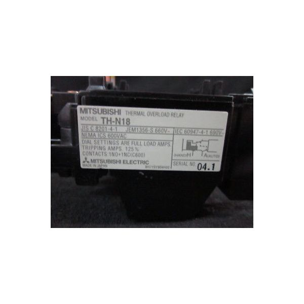 MITSUBISHI TH-N18-5A RELAY, THERMAL
