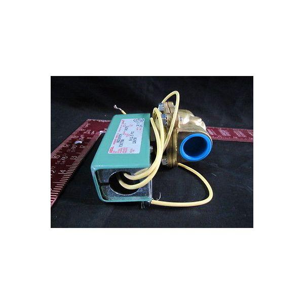 ASCO HV2305954 SOLENOID, PRESSURE EQUALIZING COMP, R-11 5 PSI, 120/50 VOLTS