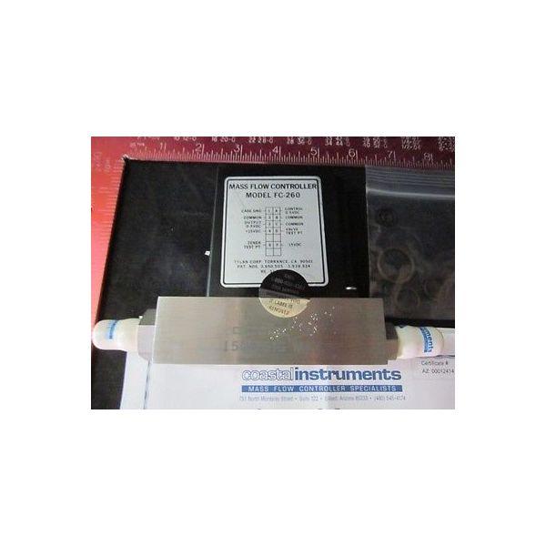 TYLAN 083223-012R MASS FLOW CONTROLLER, MODEL FC-260, 150 PSIG MAX. SEP N2 20 L