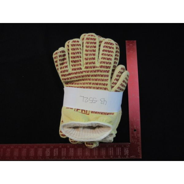 BROOKS-PRI AUTOMATION 43-552L Knit Cotton Hot Mill Glove, Large. (6 PACK)