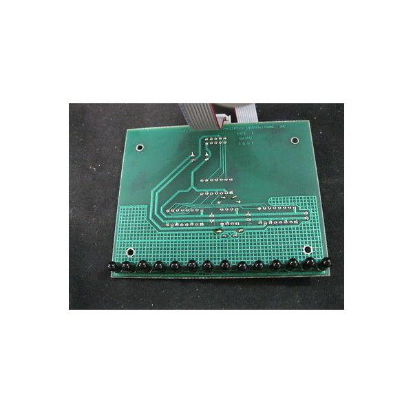 PROCONICS A0474100 PCB, REMOTE LIGHT CURTAIN RECEIVER