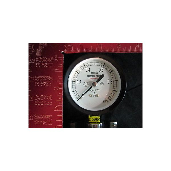 KURITA WATER 75MM 0-1.0MPA PRESSURE GAUGE DIAPHRAGM MIGISHITA 75MM 0-1.0MPA;; A(