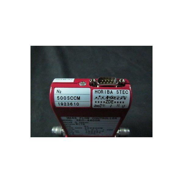 Horiba SEC-4400R Mass Flow Controller, Range: 500 SCCM, Gas: N2, Valve: O