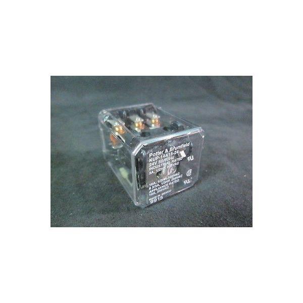 Potter & Brumfield KUP-14A15-24 Relay, 24V, 50/60Hz