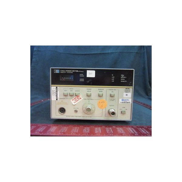 Agilent HP Keysight 436A POWER METER, SERIAL NUMBER 2236A15252