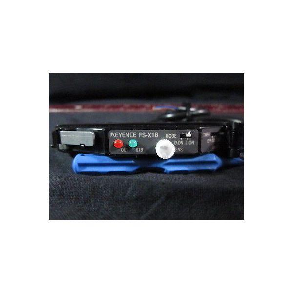 Keyence FS-X18 AMPLIFIER, FIBER SENSOR