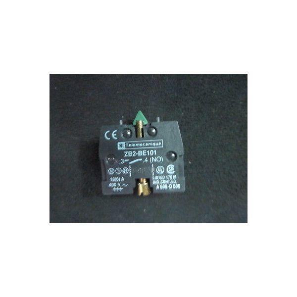 Telemecanique ZB2BE101 Contact Block, 1NO, SCREW