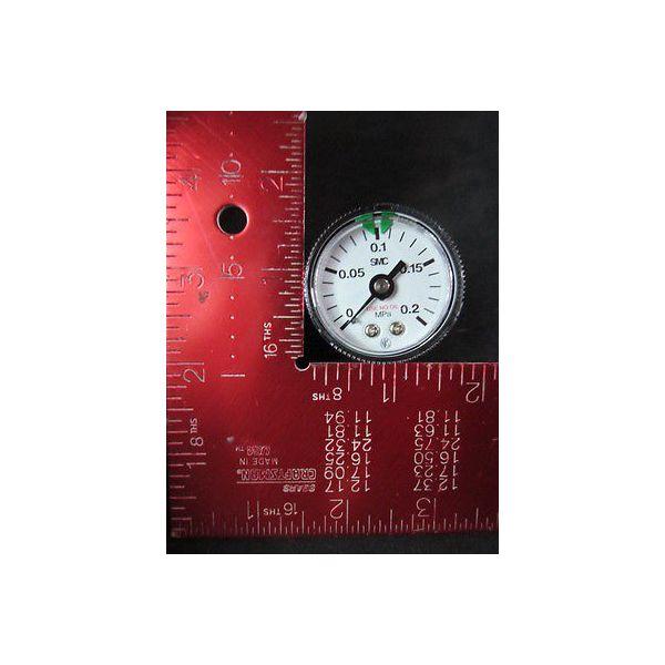 SMC  0-0.2MPa, Use in Oil, Pressure Gauge--not in original packaging