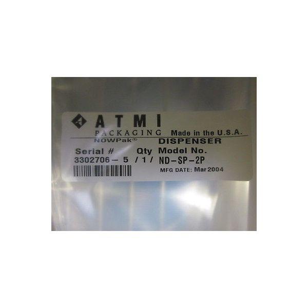 ATMI ND-SP-2P NOWPak Bag-in-a-bottle; Pressure Assist Dispense ConnectorDISP, CO