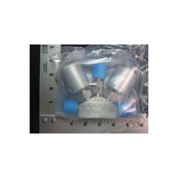 Applied Materials (AMAT) 0224-43825 Swagelok 6LV-D1V222P-BA VALVE BLOCK 3WAY 1/4