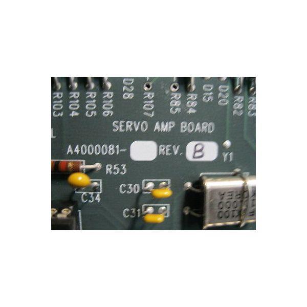 AST A4000081 REV. B PCB, SERVO AMP BD