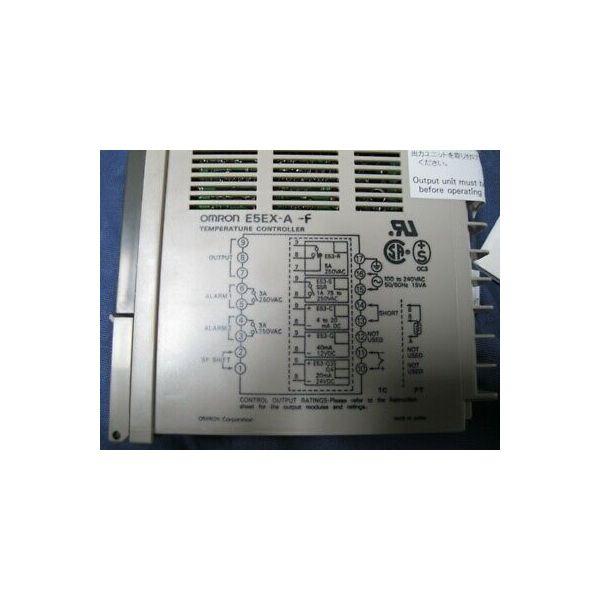 Omron E5EX-A-F CONTROLLER OMRON TEMP- E