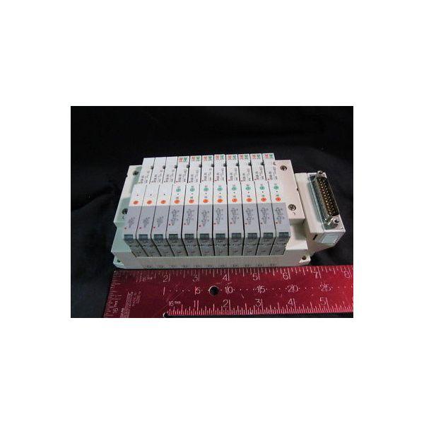 SMC SS5V1-10FD1-11B Solenoid Valve Manifold 11 pos. ***HARVESTED; Never Installe