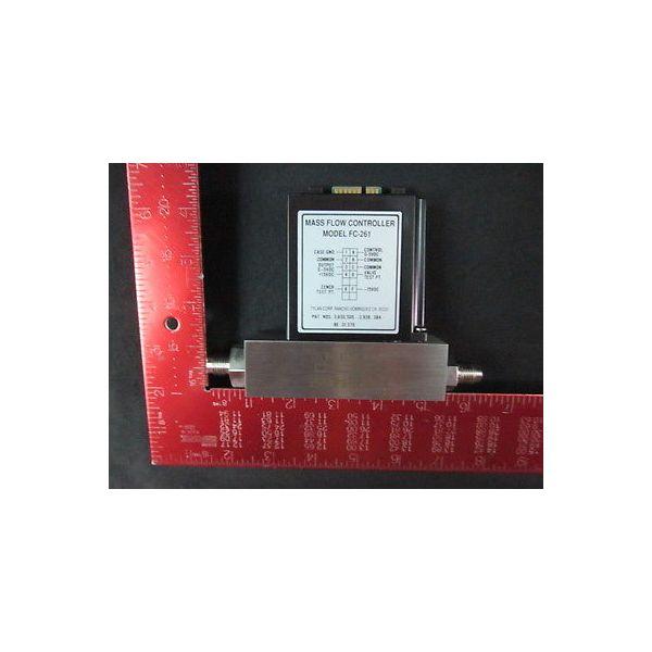 TYLAN GENERAL INC. FC-261 V 10 SLPM O2 Mass Flow Controller, 10 SLPM, Gas: O2--n