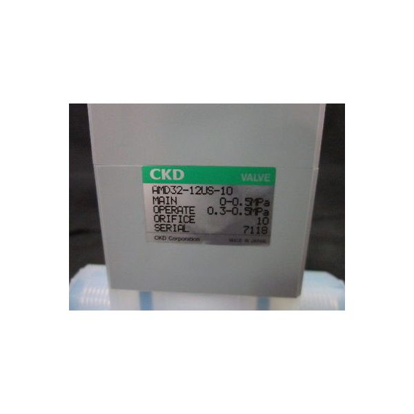 CKD CORPORATION AMD32-12US-10 VALVE, AIR OPERATE PILAER JOINT