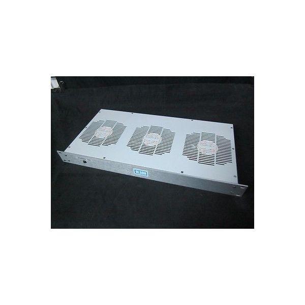 """Applied Materials (AMAT) 0600-00113 Fan Tray, 19"""", 1U, 3 Fan, 240V AC"""