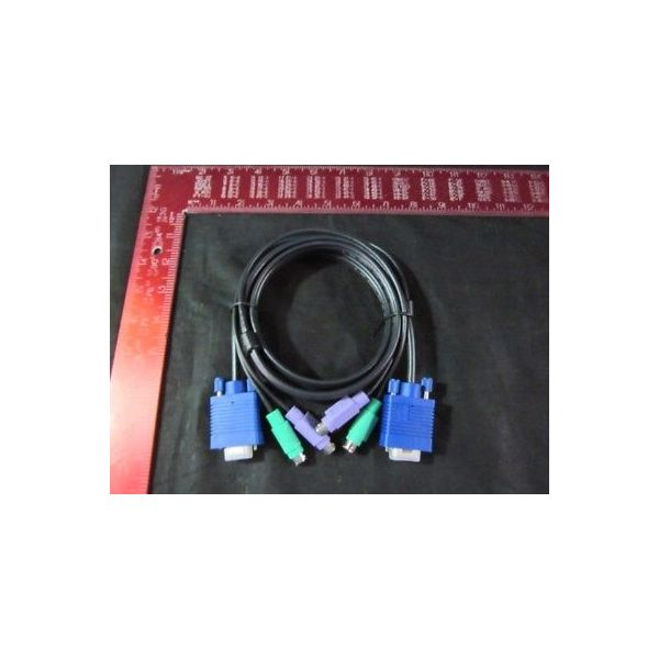 NEWARK 05H6469 CABLE  KVM  PS/2 AND SVGA  6FT (P753-006)